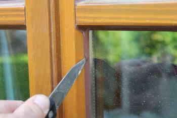 Gut gemocht Fenster streichen Silikon entfernen SM17