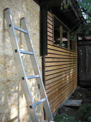 Waagerechte Lattung Fur Carport Oder Fassade