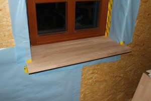 Fensterbank innen selber bauen - Fensterbank einbauen ...