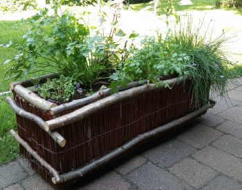 Pflanzkübel für Küchenkräuter bauen
