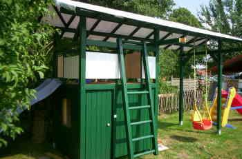 beschreibung spielhaus selber bauen, Garten und Bauen