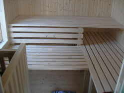 sauna bauen selbst. Black Bedroom Furniture Sets. Home Design Ideas