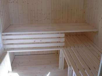 Innenausbau Sauna