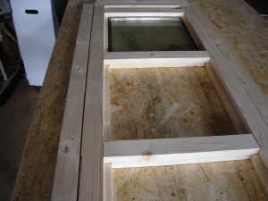 saunatuer selber bauen. Black Bedroom Furniture Sets. Home Design Ideas