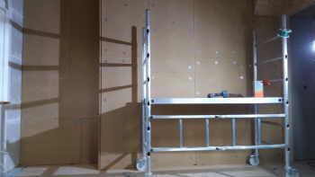 wand mit gipskarton verkleiden excellent dach giebwand with wand mit gipskarton verkleiden. Black Bedroom Furniture Sets. Home Design Ideas
