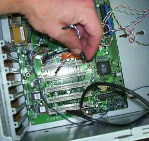 Bekannt Computer zusammen bauen | Kabel anschliessen IG73