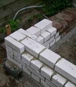 Handwerk fuer heimwerker und profis - Wand mauern kalksandstein ...