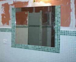 Badezimmerspiegel Kleben.Spiegel An Die Wand Kleben